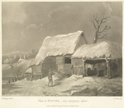 View in Winter near Thorpe, Essex